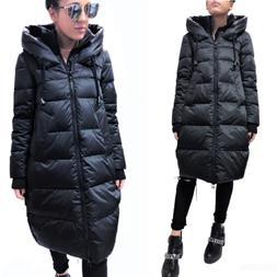 GUSTO ITALY TOP QUALITY DOWN OVERSIZE LONG PARKA COAT JACKET