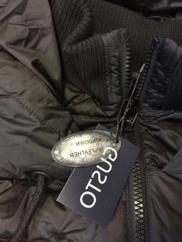 GUSTO ITALY TOP QUALITY DOWN OVERSIZE COAT JACKET