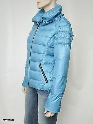 Nwt Winter Snow Down Parka Coat ~Turquoise