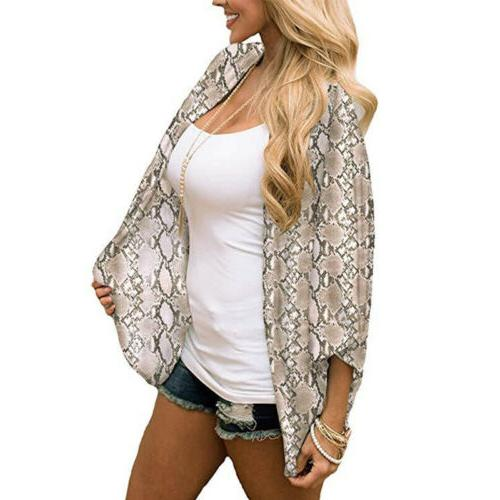 Womens Short Chiffon Shawl Cardigan Tops