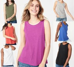 OLD NAVY Ladies Everywear Slub-Knit Tank Tops Womens Summer