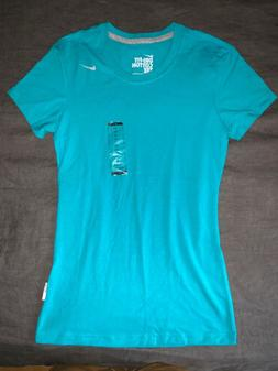 NWT AUTHENTIC WOMEN'S NIKE DRIFIT COTTON RUNNING FITNESS T