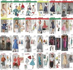 Simplicity Sewing Patterns Misses' Vintage Retro Clothing 19
