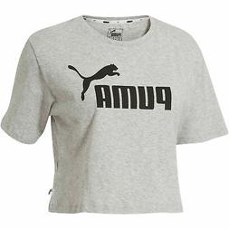 PUMA Women's Cropped Logo Tee Women Crop Top Basics