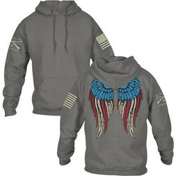 Grunt Style Women's Relaxed Fit Freedom Angel 2.0 Pullover H